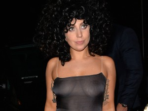 Lady gaga transparent